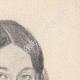 DETAILS 03 | Portrait of Léopoldine Hugo, daughter of Victor Hugo (Ketty Muller)