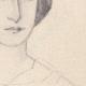 DETAILS 04 | Portrait of Léopoldine Hugo, daughter of Victor Hugo (Ketty Muller)