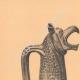 DETAILS 01   Greek vases - Oenochoe - Gamédes  - VIIth Century (Aegina - Tanagra)