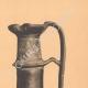 DETAILS 05   Greek vases - Oenochoe - Gamédes  - VIIth Century (Aegina - Tanagra)