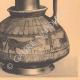DETAILS 06   Greek vases - Oenochoe - Gamédes  - VIIth Century (Aegina - Tanagra)