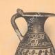 DETALLES 01   Jarrones griegos - Enócoe y Alabastrón coríntio - Siglo VII (Tanagra)