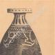 DETALLES 05   Jarrones griegos - Enócoe y Alabastrón coríntio - Siglo VII (Tanagra)