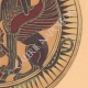 DETAILS 04 | Greek vases - Corinthian platter - Sphinx - VIIth Century