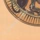DETAILS 05 | Greek vases - Corinthian platter - Sphinx - VIIth Century
