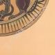 DETAILS 06 | Greek vases - Corinthian platter - Sphinx - VIIth Century
