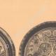 DETAILS 02 | Greek vases - Platters - VIth Century (Rhodes)