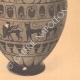 DETAILS 06 | Greek vases - Ionian and Etruscan-Ionian Amphora - Centaur - VIth Century