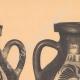 DÉTAILS 02 | Vases grecs - Amphores corinthienne et étrusco-ionienne - VIème Siècle (Italie)