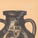 DÉTAILS 05 | Vases grecs - Amphores corinthienne et étrusco-ionienne - VIème Siècle (Italie)