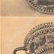 DÉTAILS 02 | Vases grecs - Coupe lacono-cyrénéenne - VIème Siècle
