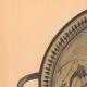 DETAILS 01   Greek vases - Cup - Arcésilas - VIth Century (Vulci)