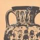 DETAILS 01 | Greek vases - Amphora - Chalcis - VIth Century (Vulci)
