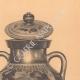 DÉTAILS 05 | Vases grecs - Amphore attique - Exékias - VIème Siècle (Italie)