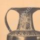 DÉTAILS 01   Vases grecs - Amphore attique - Nicosthénès - VIème Siècle (Etrurie)