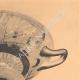 DETAILS 03 | Greek vases - Attic cup - Nikosthenes - VIth Century