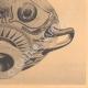 DETAILS 06 | Greek vases - Attic cup - Nikosthenes - VIth Century