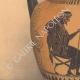 DETAILS 02 | Greek vases - Attic Oenochoe of Nikosthenes - VIth Century (Etruria)