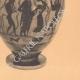 DETAILS 06   Greek vases - Attic Hydria - VIth Century (Etruria)