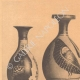DETAILS 01 | Greek vases - Four little Lekythoi - Skyphos - IVth Century