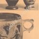 DETAILS 04 | Greek vases - Four little Lekythoi - Skyphos - IVth Century