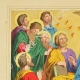 DETAILS 01 | Descent of the Holy Spirit on the apostles (New Testament)