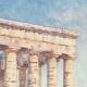DÉTAILS 02 | Temple de Ségeste - Grèce antique - Sicile (Italie)