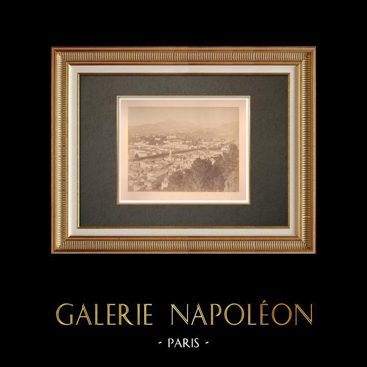 Gravures Anciennes & Dessins | Nice - La Vallée du Paillon - Alpes-Marítimes (France) | Photographie | 1880