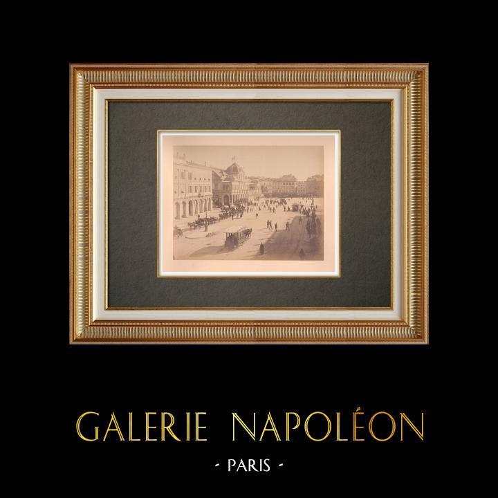 Grabados & Dibujos Antiguos   Nice - Niza - Costa Azul - Riviera francesa - Casino - Alpes-Marítimos (Francia)   Fotografía   1880