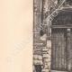 DETAILS 02   Door of the Tristan-L'Hermite House in Tours - Indre-et-Loire (France)