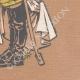 DETAILS 08 | Caricature of Francis-Joseph I of Austria (1830-1916)