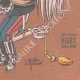 DETAILS 06 | Caricature of Victor Emmanuel III of Italy (1869-1947)
