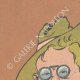 DETAILS 01 | Caricature of Theodore Roosevelt (1858-1919)