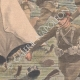DÉTAILS 02 | Guerre du Transvaal - Héroisme du général Christiaan de Wet - Afrique  du Sud - 1902
