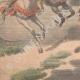 DÉTAILS 05 | Deux soldats français assassinés par des Marocains - Beni-Nounir - Maroc - 1902