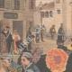 DÉTAILS 02 | Un enterrement à bicyclette à Imola - Italie - 1902