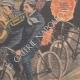 DÉTAILS 05 | Un enterrement à bicyclette à Imola - Italie - 1902