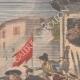 DÉTAILS 03 | Troubles à Barcelone - Catalogne - Espagne - 1902