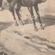 DETAILS 06 | Arrest of three young thieves with their donkeys at Montmorency - 1902