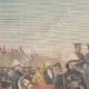 DÉTAILS 01 | Revue militaire par Paul Doumer et l'Empereur de l'Annam - Hanoï - Indochine - 1902