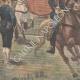 DÉTAILS 02 | Revue militaire par Paul Doumer et l'Empereur de l'Annam - Hanoï - Indochine - 1902