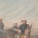 DÉTAILS 03 | Revue militaire par Paul Doumer et l'Empereur de l'Annam - Hanoï - Indochine - 1902