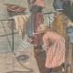 DETAILS 02 | Harvesting oysters in Cancale - Brittany - France - 1902