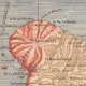 DETAILS 01   Map of Martinique - Eruption of Mount Pelee - St Pierre - 1902