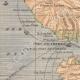 DETAILS 02   Map of Martinique - Eruption of Mount Pelee - St Pierre - 1902