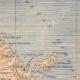 DETAILS 03   Map of Martinique - Eruption of Mount Pelee - St Pierre - 1902