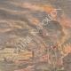 DETAILS 03 | Eruption of Mount Pelee - France helps Martinique - Allegory - 1902