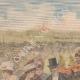 DÉTAILS 01 | Voyage de Emile Loubet en Russie - Revue militaire à Krasnoïe Selo - Russie - 1902