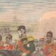 DÉTAILS 03 | Voyage de Emile Loubet en Russie - Revue militaire à Krasnoïe Selo - Russie - 1902
