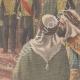 DÉTAILS 04 | Le nouveau Bey de Tunis Hédi Bey - Cérémonie d'investiture - Palais du Bardo - Tunisie - 1902